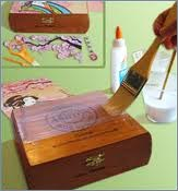 What to do with cigar boxes cigar box crafts decorate for Cardboard cigar box crafts