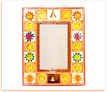 Handpainted Wooden Picture Frame