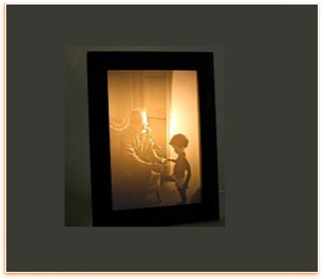 Personalized Carved Photo Night Lamp