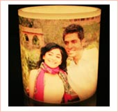 Buy Personalized Photo Candle