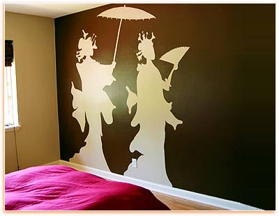 Decorating Wall with Painting